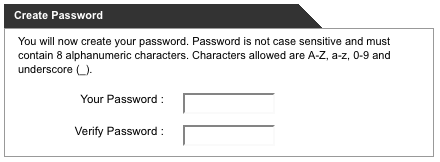 Password Complexity?